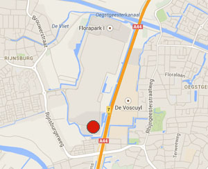 plattegrond TopTruck Rijnsburg